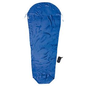 Cocoon - Drap sac de couchage soie S - bleu